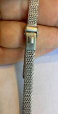 JB Champion Vintage Watchband, 1/40 10k White gold overlay 12mm NOS Omega Ladies