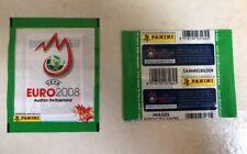 Panini Euro 2008 - Pochette Bustina Tüte Zakje Packet Green Vert