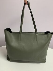 Calvin Klein Green Tote Handbag Bag