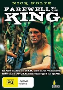 Farewell To The King (DVD, 1989) Nigel Havers, Nick Nolte, Frank Mcrae