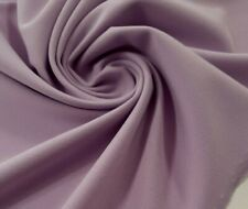 4 meters lilac scuba crepe fabric