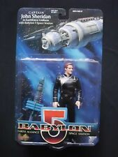 Babylon 5 - Series 1 - Captain John Sheridan - Action Figure w/ Space Station