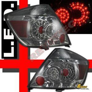 Smoke LED Tail Lights Lamps RH + LH For 2008-2010 Scion tC