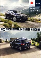 Suzuki SX4 S-Cross 04 / 2017 brochure catalogue Austria Autriche
