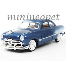 MOTORMAX 73213 1949 FORD COUPE 1/24 DIECAST MODEL CAR BLUE