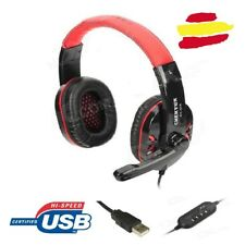 Auriculares USB Gaming microfono cascos musica juegos headphones PC PS3 Stereo