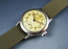 Authentic Vintage Waltham US Military WW2 Ord Dept Stainless Steel  Mens Watch