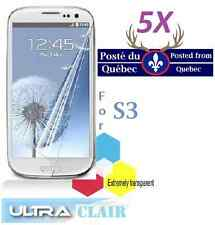 5X Protecteur Ecran ULTRA clair Samsung Galaxy S3 S 3 Clear Screen Protector