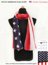 4th Of July Special American Flag Scarf 72 x 40 in *US Seller*