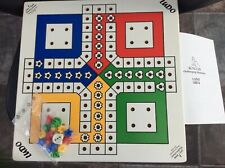 Pintoy Ludo Set for people with sight problems low vision blind RNIB New wood