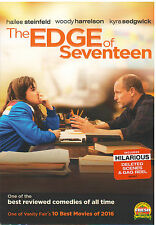 EDGE OF SEVENTEEN (DVD, 2017) NEW WITH SLEEVE