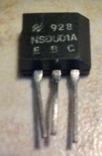 National NSDU01A NPN Power Transistor - NOS