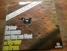 Wernher Von Braun - Original-Dokumente Vom Weg Zum Mond [LP Vinyl] N.Armstrong