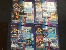 Pokemon PIPLUP Blister - 2x DIAMOND & PEARL & POWER KEEPERS Sealed Booster Packs