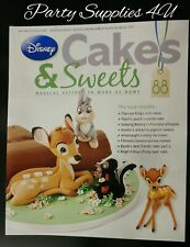 Disney Cakes and Sweets Magazine Issue 88. Bambi/recipes/cupcakes/crumble