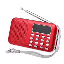 Y-896 Mini FM Radio Portable Digital Stereo Speaker MP3 Audio Player USB TF P5K6