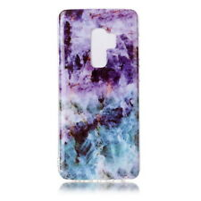 For Samsung Galaxy S9 Plus Luxury Marble Floral Patterned Soft Rubber Case Cover