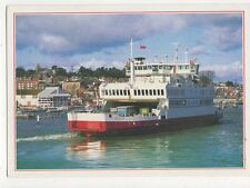 Red Funnel Ferry The Red Falcon Cowes Harbour Postcard IOW 253a