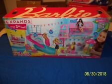 Mattel Barbie Sisters Cruise Ship Pool- Slides- w/BOX OPENED NOT PLAYED WITH BUY