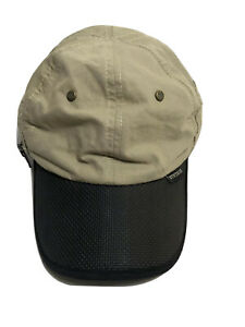 Mens Stetson Cap With Protective Neck Flap That Folds Into Zipperd Pocket Large