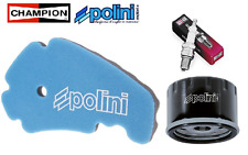Pack Entretien Filtre Air/Huile Polini Bougie Piaggio MP3 400