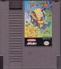 SIMPSON'S BART VS THE WORLD NINTENDO GAME SYSTEM NES HQ