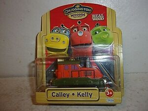 Chuggington Wooden Railway - Calley - Kelly - New in Package