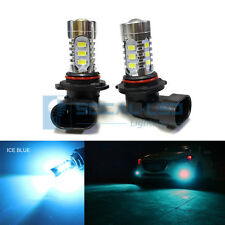 2x Ice Blue H10 9145 LED Fog Light Bulbs 15W SMD 5730 High Bright Daytime DRL