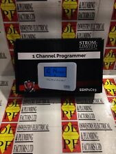 STROM SINGLE 1 CHANNEL HEATING PROGRAMMER PROGRAMMABLE THERMOSTAT - SSHP1C03