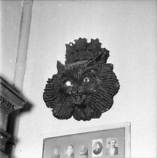 RIS ORANGIS c.1955 - 1ère Enseigne Cabaret Le Chat Noir-Négatif 6 x 6 - N6 IDF29