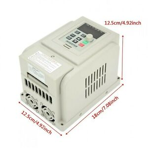 12A Variable Frequency Drive Built-in Filter New 100% Brand New And High Quality