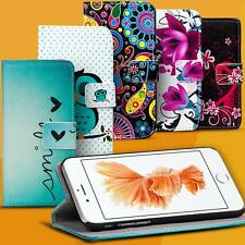 Handy Hülle für Apple iPhone Case Motiv Tasche Schutz Cover Wallet Flip Etui