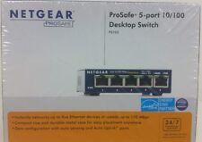 NEW Netgear ProSafe Model FS105 5-Port 10/100 Desktop Switch Factory Sealed
