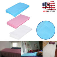 10Pcs Sheet Disposable Non-Woven Paper Table Bed Cover Spa Bed Cover 180 x 80cm