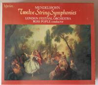 Mendelssohn Twelve String Symphonies - 3 CD Set - London Festival Orchestra
