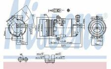 NISSENS Kompressor für OPEL ZAFIRA 890006 - Mister Auto Autoteile