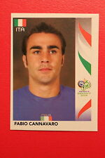 PANINI FIFA WORLD CUP GERMANY 2006 06 N. 324 ITALIA CANNAVARO  MINT!!!