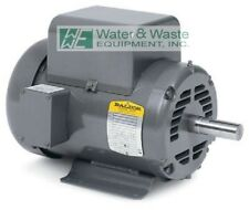 5 HP, 1725 RPM NEW BALDOR AIR COMPRESSOR ELECTRIC MOTOR FR# L1430T