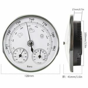Barometer Outdoor Wall Mounted Thermometer Weather Station High Weather Forecast