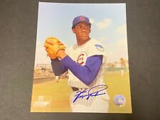 Fergie Jenkins Chicago Cubs Autographed Signed 8x10 Picture .