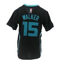 Charlotte Hornets NBA Adidas Kids Youth Size Kemba Walker Swingman Jersey New