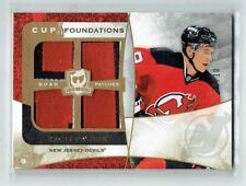 08-09 UD The Cup Foundations Zach Parise 10/10 bad back edge came that way