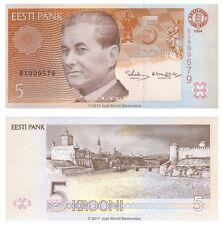 Estonia 5 Krooni 1994 (1997) P-76 Banknotes UNC