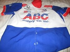 ABC supply Co. A J Foyt racing pit crew shirt size large