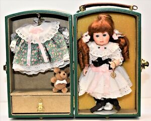 """Vintage Marie Osmond 8"""" Signed Doll Limited 97 / 2500 Key Case / Clothes  > 5.3D"""