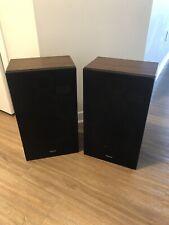 Vintage Technics Linear Phase Speaker System SB-L50 3 Way Speakers Pair