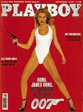 Playboy Dezember/12/1995    Alle Bond-Girls von 1962 -1995