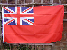 British Merchant Navy Union Jack/Large Red Naval Ensign Ship/Boat/Yacht Flag New