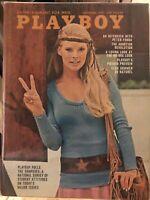 Playboy Sept 1970 ciki peters, connie kreski, vargas firl, debbie ellison