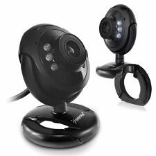 HD 16.0 MP 6 LED USB Webcam Camera with Mic & Night Vision for Desktop PC Laptop